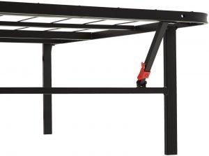 AmazonBasics Platform Bed Frame 2 300x223 image