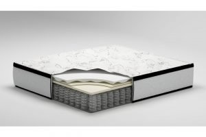 Ashley Furniture Signature Design Chime Express Hybrid Innerspring Mattress 1 300x200 image