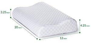 Bedsure Memory Foam Contour Pillow 1 2 300x142 image