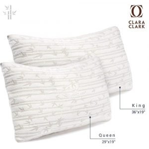 Clara Clark Premium Shredded Memory Foam Pillow 3 300x300 image