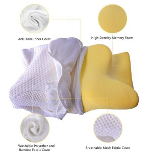 Coisum Orthopedic Memory Foam Pillow 2 300x300 image