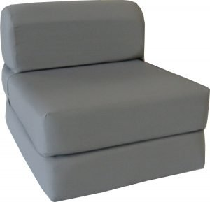 D and D Furniture 6 Thick Twin Size Gray Sleeper 3 300x289 image
