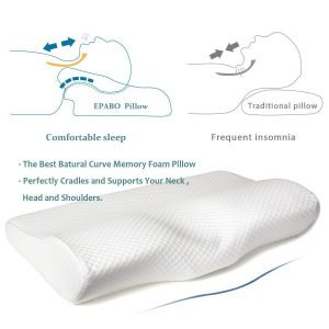 EPABO Contour Memory Foam Pillow 1 2 300x300 image