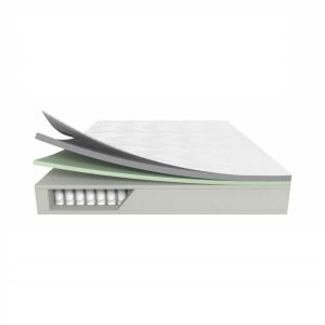 LUCID 10 Inch Queen Hybrid Mattress