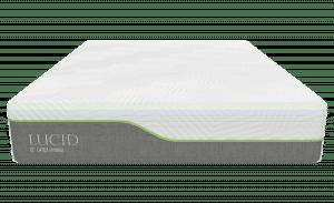 LUCID 12 Inch Queen Hybrid Mattress 2 300x183 image