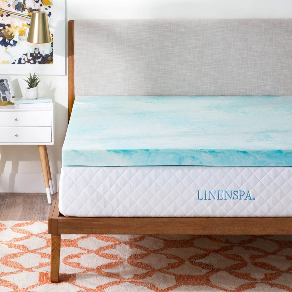 Linenspa-Best-Mattress-Topper-for-Side-Sleepers
