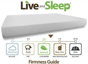 Live and Sleep Queen Mattress 3 300x218 image