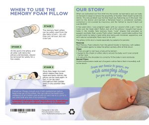 Newborn Baby Head Shaping Pillow 4 300x252 image