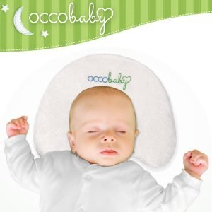 OCCObaby Baby Head Shaping Memory Foam Pillow 2 300x300 image