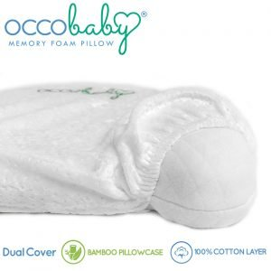OCCObaby Baby Head Shaping Memory Foam Pillow 3 300x300 image