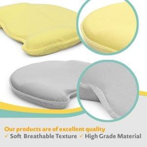 Tic Tic Baby Head Shaping Memory Foam Pillow 3 300x300 image