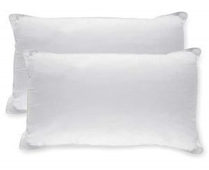 White Classic Down Alternative Soft Bed Pillows Sleeping 1 300x244 image