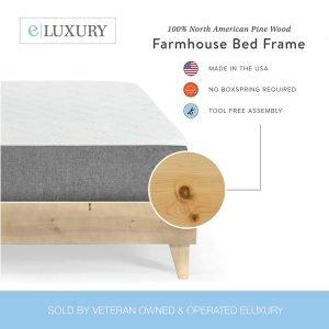 eLuxurySupply Platform Bed Frame-2