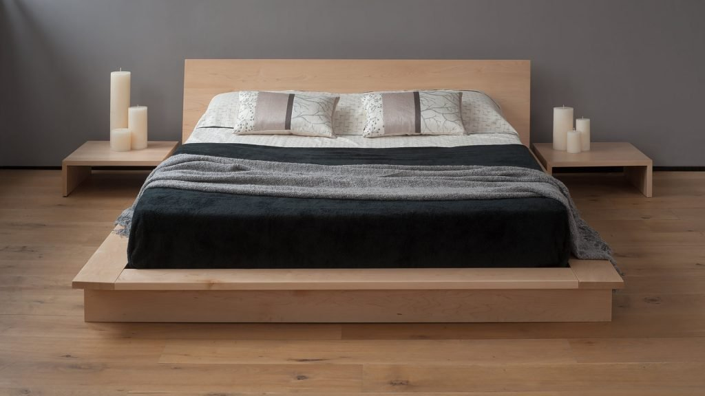 Low Wooden Beds