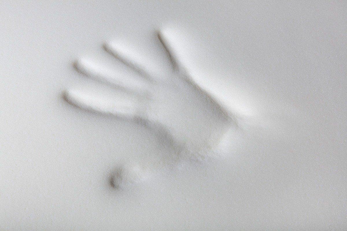 memory foam handprint image