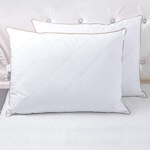 puredown Natural Goose Down Feather Pillows-1