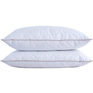 puredown Natural Goose Down Feather Pillows for Sleeping 1 300x300 image