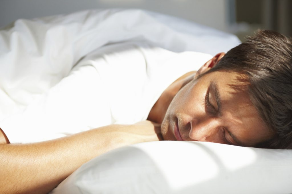 young man sleeping 1024x682 image