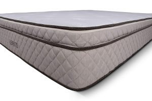 Elements Latex by Dreamfoam Bedding Eurotop Latex Mattress