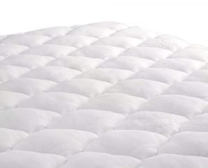 ExceptionalSheets Rayon from Bamboo Mattress Pad with Fitted Skir 1 300x243 image