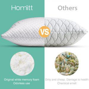 Homitt Shredded Memory Foam Pillow-2