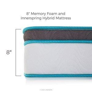 LINENSPA Memory Foam 1 300x300 image