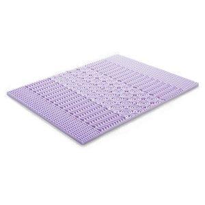 LUCID 5 Zone Lavender Memory Foam Mattress Topper 1 300x300 image
