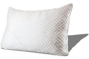 PureComfort Adjustable Loft Neck & Back Pain Relief Pillow
