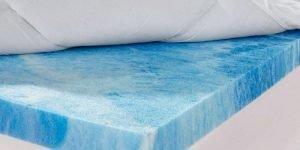 Sleep Innovations Gel Memory Foam Dual Layer Mattress Topper3 300x150 image