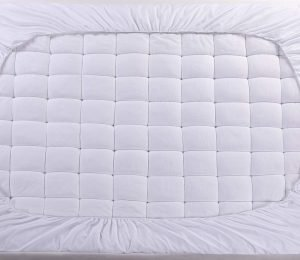 oaskys Mattress Pad Cover Cotton Top 3 300x260 image