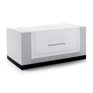 WEEKENDER Ventilated Gel Memory Foam Pillow-2