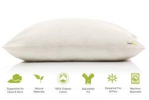PureTree Certified Organic Latex Pillow-2