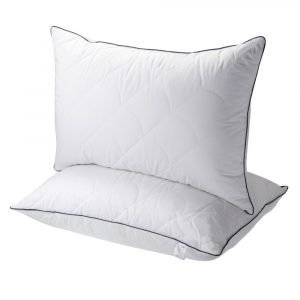 Sable Goose Down Alternative Bed Pillow
