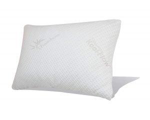 Snuggle-Pedic Original Ultra-Luxury Bamboo Shredded Memory Foam Combination Pillow