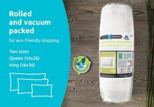Xtreme Comforts 100% Bamboo Pillow-3