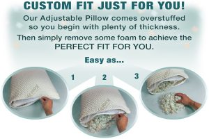 Xtreme Comforts Hypoallergenic Bed Pillow-1