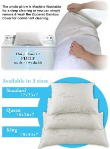 Xtreme Comforts Hypoallergenic Bed Pillow-2