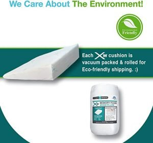 Xtreme Comforts Memory Foam Wedge Pillow-3
