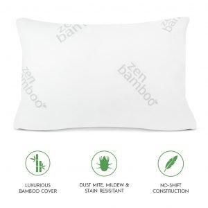 Zen Bamboo Ultra Plush Gel Pillow-2
