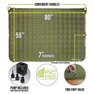 Lightspeed Outdoors 2-Person Air Bed Mattress-1
