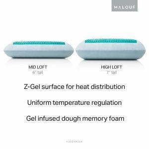 MALOUF Z Gel Dough Memory Foam Pillow-3