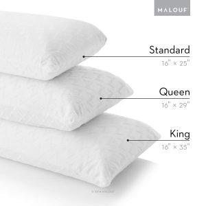 MALOUF Z Gel Dough Memory Foam Pillow-4