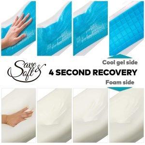 Save&Soft Gel Memory Foam Pillow-1