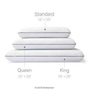 WEEKENDER Ventilated Gel Memory Foam Pillow-1