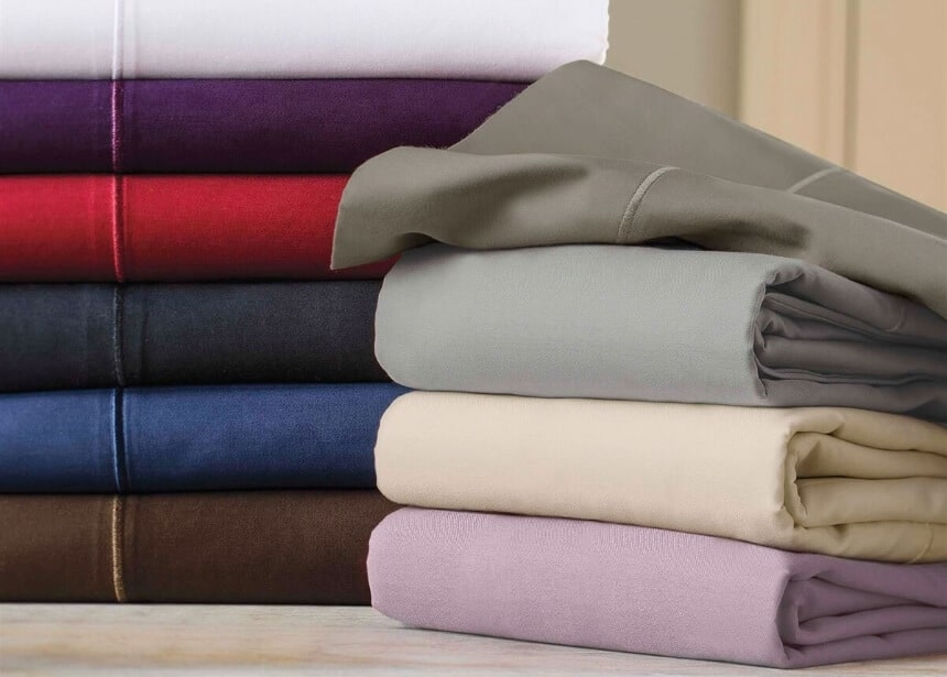 5 High-Quality Color Bed Sheets to Hide Stains and Help Make Your Bed Look Gorgeous