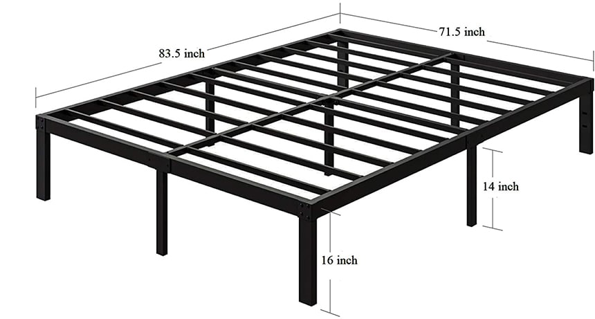 7 Best California King Bed Frames for Your Spacious Bed!