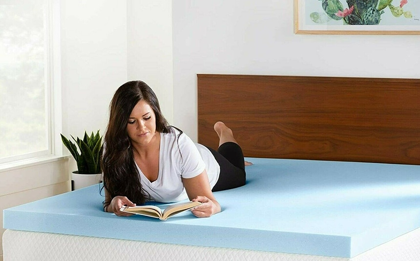 Lucid Mattress Topper Review: Ventilated Gel Memory Foam and Other Options