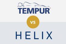 Tempur-Pedic vs Helix: Detailed Mattress Comparison