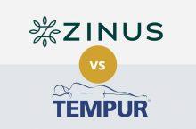 Zinus vs Tempurpedic: Detailed Mattress Comparison
